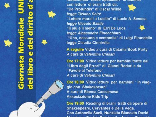 Il contributo del nostro Liceo per la Giornata Mondiale del Libro!