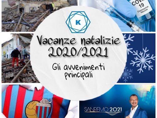 Vacanze natalizie 2020/2021: gli avvenimenti principali