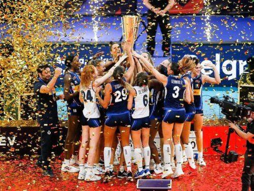 L'Italia vince gli Europei di volley femminile